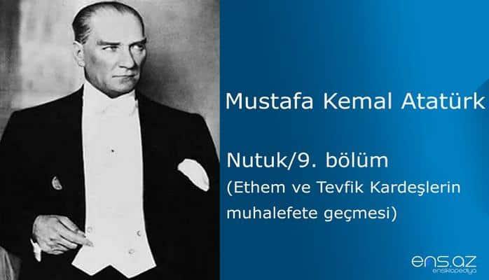 Mustafa Kemal Atatürk - Nutuk/9. bölüm