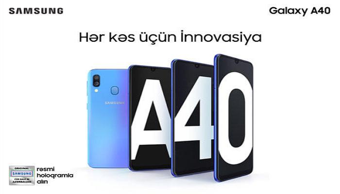 Samsung Galaxy A40 – rahatlıq üçün yaradılmış smartfon
