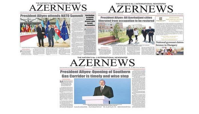 Azərbaycan qəzeti ABŞ-da da nəşr olunmağa başladı