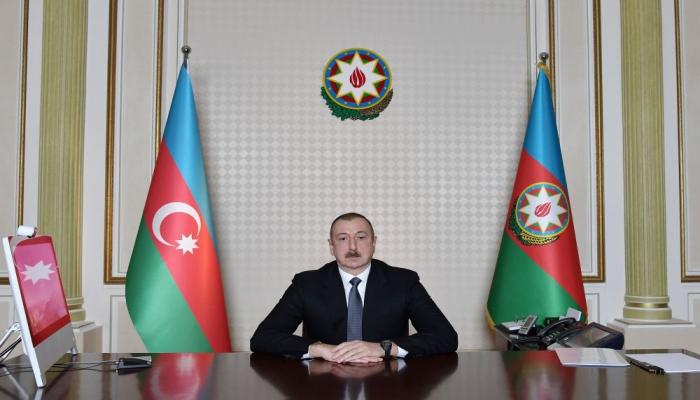Президент Ильхам Алиев: В течение двух месяцев государство должно ежемесячно выплачивать 190 манатов не 200 тысячам, а 600 тысячам человек