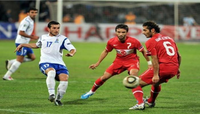 УЕФА назвал время и место матча Турция-Азербайджан