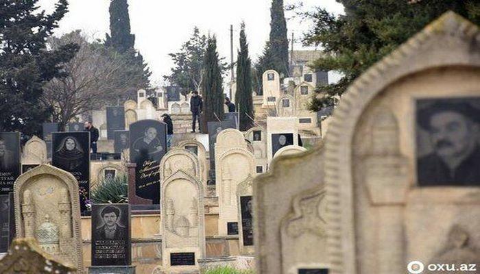 Азербайджанское кладбище создает свой сайт