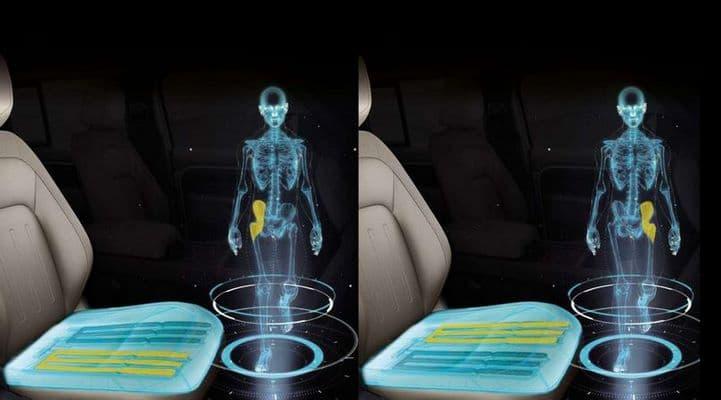 Jaguar Land Rover научил сидения имитировать ходьбу