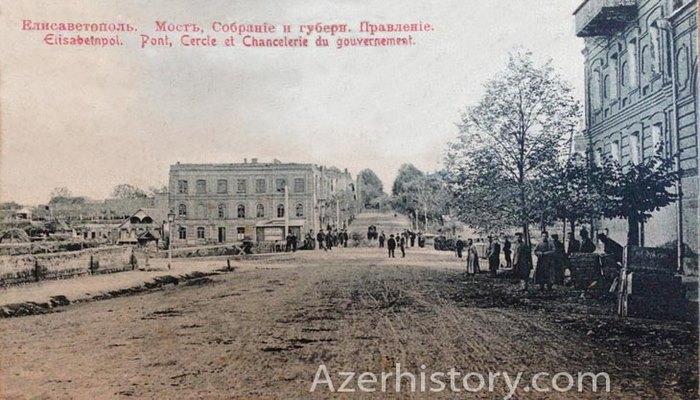Виды Елисаветполя (Гянджи) на старинных открытках (ФОТО)