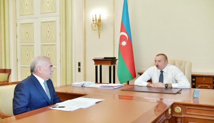 Президент Ильхам Алиев: Нахчыван, не имеющий никаких внутренних энергоресурсов, сегодня экспортирует электроэнергию