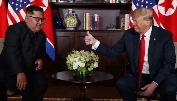 Новая встреча Трампа и Ким Чен Ына может состояться в начале 2019 года