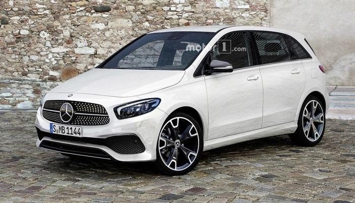 В Париже представят новый Mercedes-Benz B-Класса