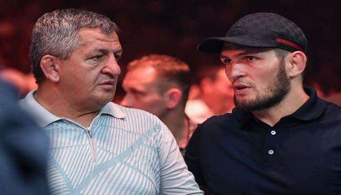 Отец Нурмагомедова раскрыл детали подготовки сына к бою с Фергюсоном