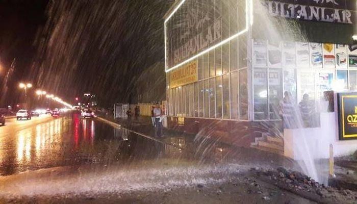 В Хатаинском районе лопнул водопровод: жители остались без воды