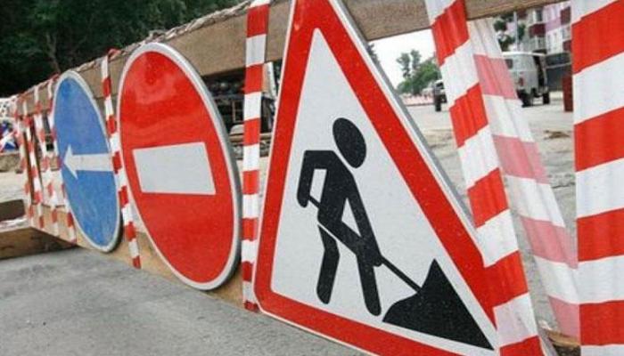 Движение транспорта по вспомогательной дороге пр. Гейдара Алиева в Баку будет ограничено