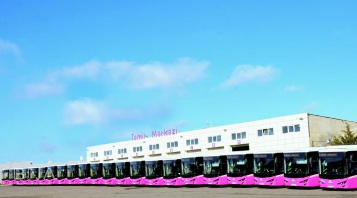 С завтрашнего дня в Баку будет обновлен автобусный парк на одной маршрутной линии