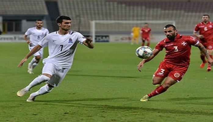 Азербайджан сыграл в ничью с Мальтой в Лиге Наций