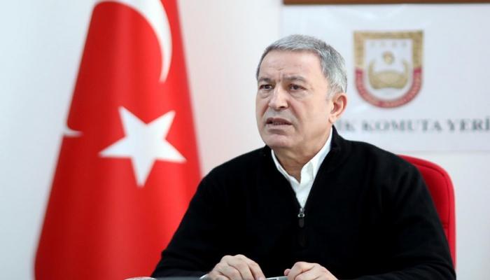 """Hulusi Akar: """"Ermənistanın alçaq hücumunu pisləyirik"""""""