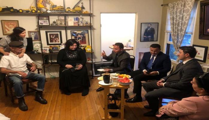 В США встретились очевидцы Ходжалинского геноцида и Холокоста