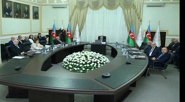 Состоялось очередное заседание Президиума Национальной академии наук Азербайджана