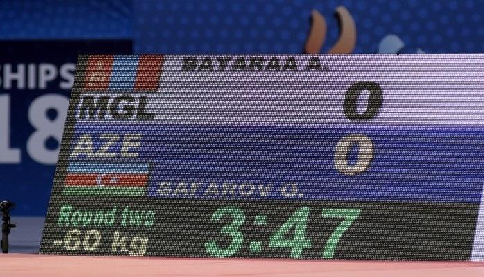 «Баку-2018»: Орхан Сафаров завоевал первую победу