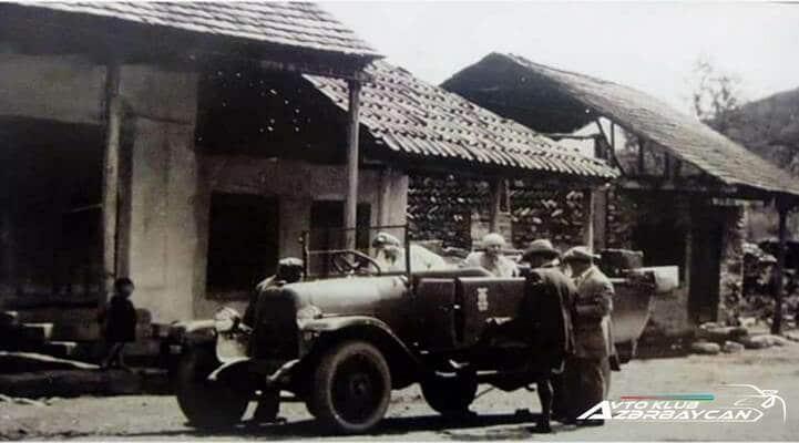 Azərbaycana gətirilmiş ilk avtomobil və onun sahibi