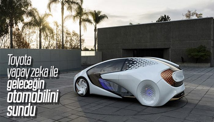 Toyota yapay zeka aracıyla geliyor