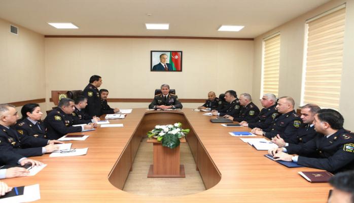 Вилаят Эйвазов представил коллективу нового руководителя Национального центрального бюро Интерпола