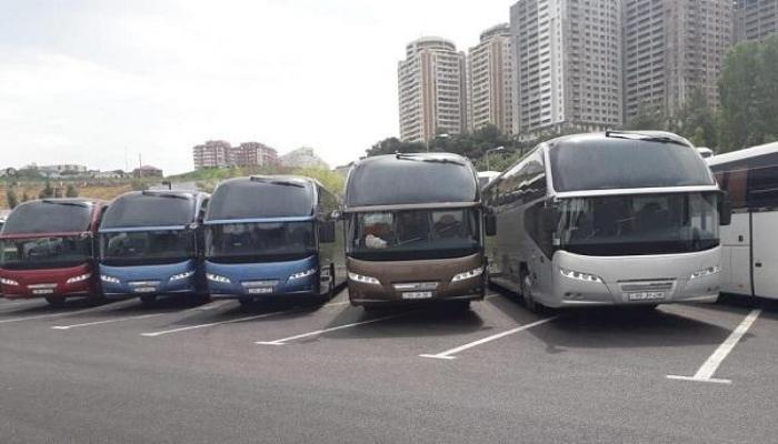 Bölgələrə gedənlərə şad xəbər: neoplan avtobusları