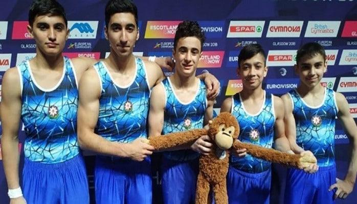 Azərbaycan gimnastları Avropa çempionatında çıxış ediblər