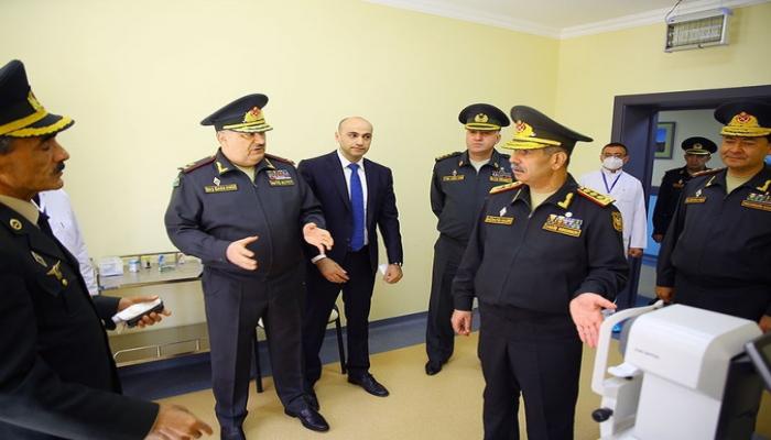 Zakir Həsənov Baş Klinik Hospitalın yeni korpusunun açılışında iştirak edib