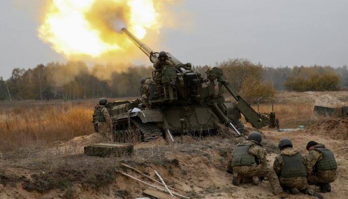 Артиллерийские подразделения провели учения с боевой стрельбой