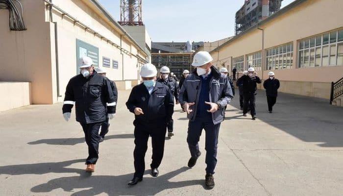 Президент SOCAR побывал на НПЗ имени Гейдара Алиева