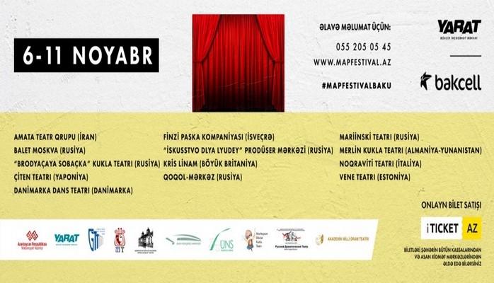 В Баку пройдет международный театральный фестиваль M.A.P.