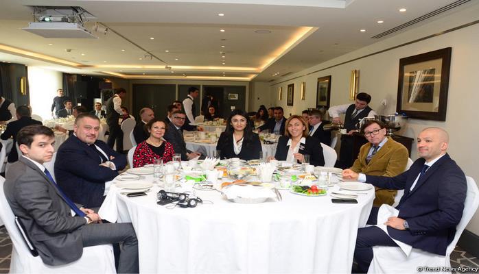 Azərbaycan-Fransa Ticarət və Sənaye Palatası tərəfindən işgüzar səhər yeməyi təşkil edilib