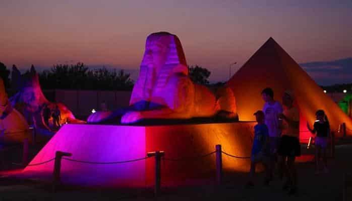 Kum heykel festivali rekora gidiyor