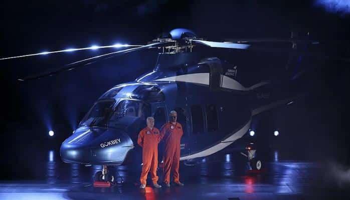 Türkiyənin yeni helikopteri təqdim olundu