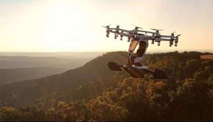 Tek kişilik drone yakın zamanda seferlere başlıyor