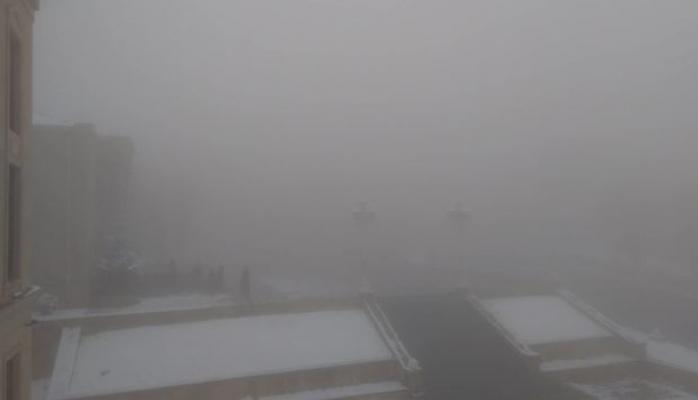 Снегопад в Дашкесане