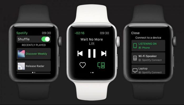 Spotify artık Apple Watch'ta da kullanılabilecek