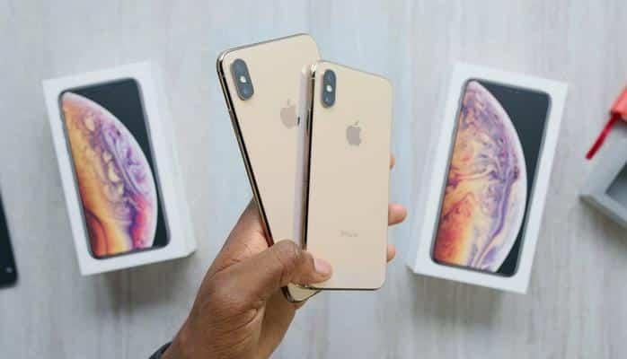 Золотые iPhone XS и XS Max уже распаковали на камеры