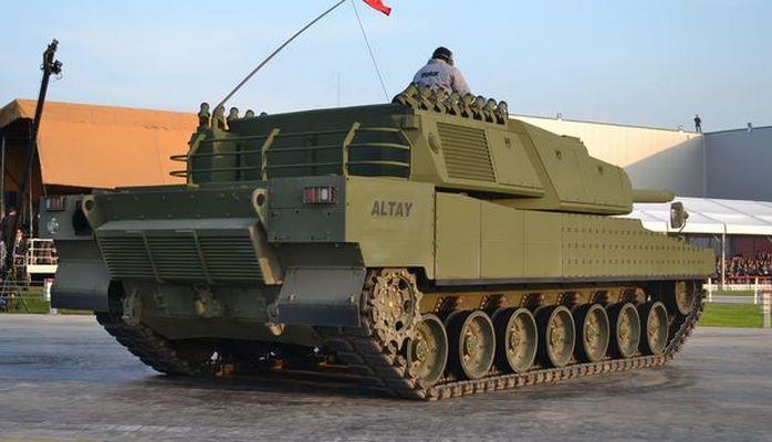 Турция начинает серийное производство танков Altay