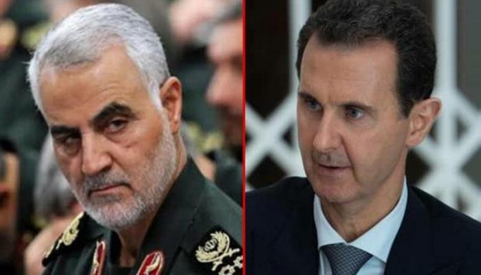 İranlı generalla bağlı şok detallar üzə çıxdı - Əsədin Suriyadan qaçmasına...