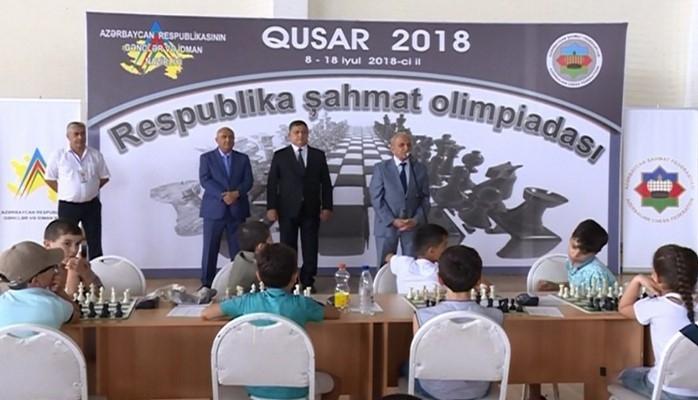 Şahmat üzrə respublika olimpiadasında 500-dək idmançı mübarizə aparır