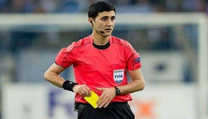 """Azərbaycanlı hakim """"Bordo""""nun futbolçusunu qovdu"""