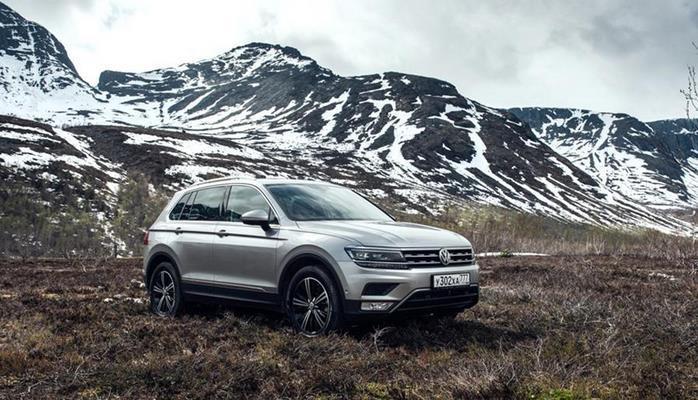 Volkswagen выпустил юбилейный Tiguan