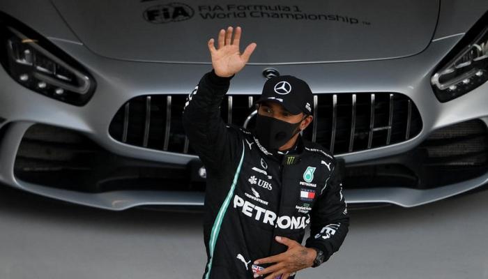 """Hemilton """"Formula 1"""": Rusiya Qran-prisinin qalibi olub"""