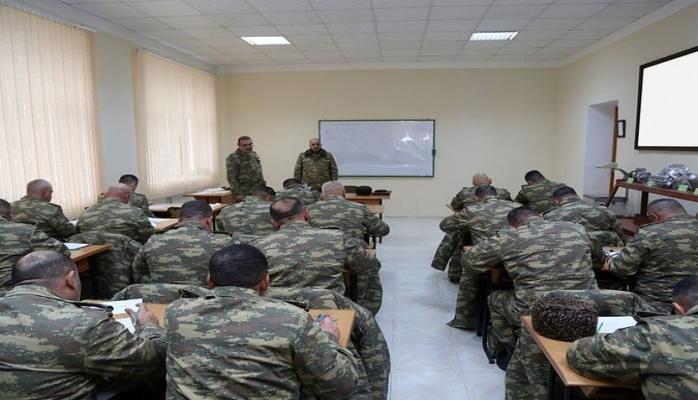 Azərbaycan Ordusunun komandir heyətinin toplanışı keçirilib
