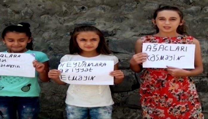 Азербайджанские дети обратились к взрослым