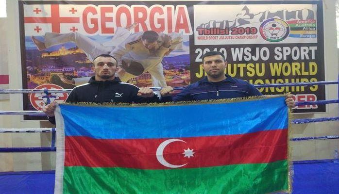 Двое азербайджанских полицейских взяли награды чемпионата мира