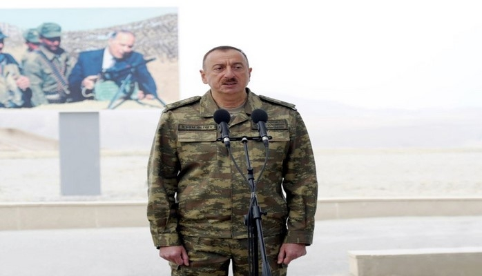 Президент Ильхам Алиев: Азербайджанская армия входит в число 50 самых сильных армий в мировом масштабе