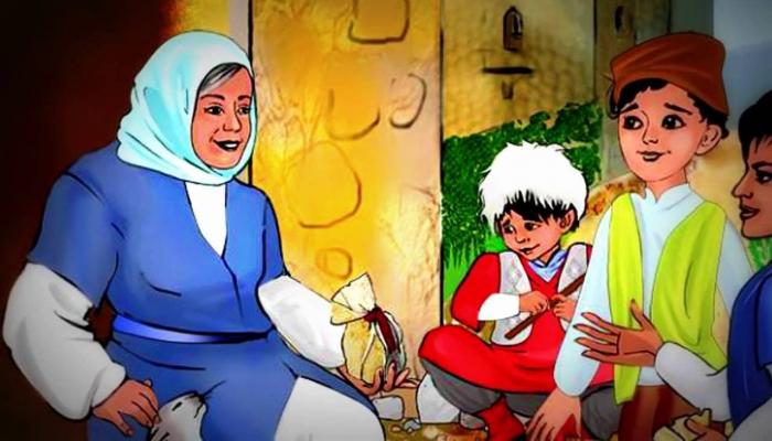 Азербайджанская сказка представлена в виде мейханы и анимации