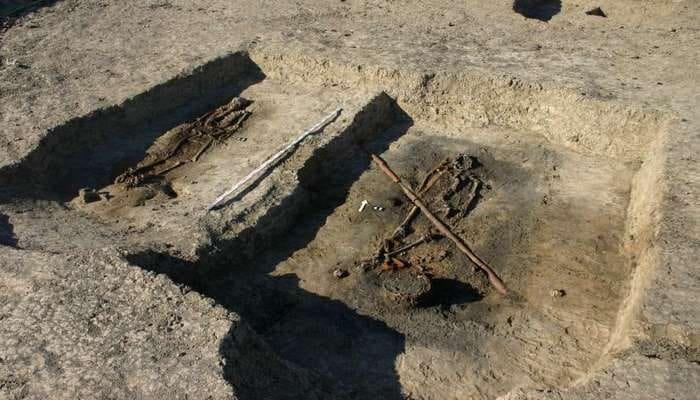 Arxeoloqlar tanınmış vikinqlərin ölüm evini tapıb
