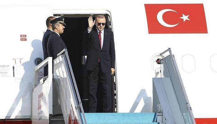Президент Турции отбыл в Сочи