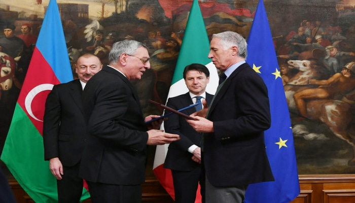 Олимпийские комитеты Азербайджана и Италии подписали меморандум